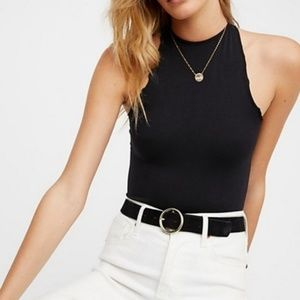 Free People Seamless High Neck Bodysuit